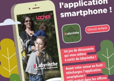 Labyrinthe de la forêt communale Tours-Preuilly