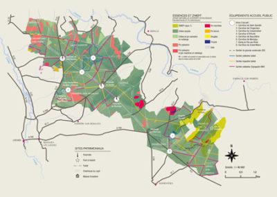 Carte Forêt de Loches